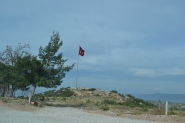 Turkey Flag soaring high