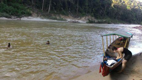 Swim in the river
